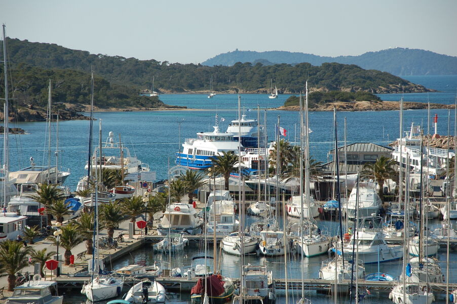 Port de Porquerolles à Hyères - 1