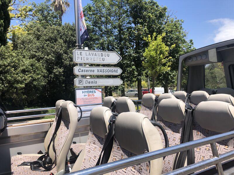 Visite de Hyères en bus à Hyères - 3