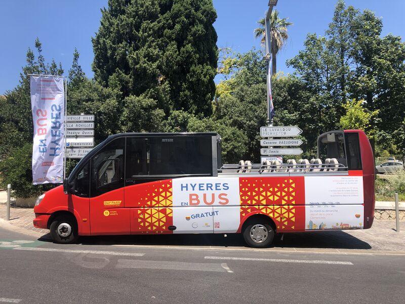 Visite de Hyères en bus à Hyères - 0