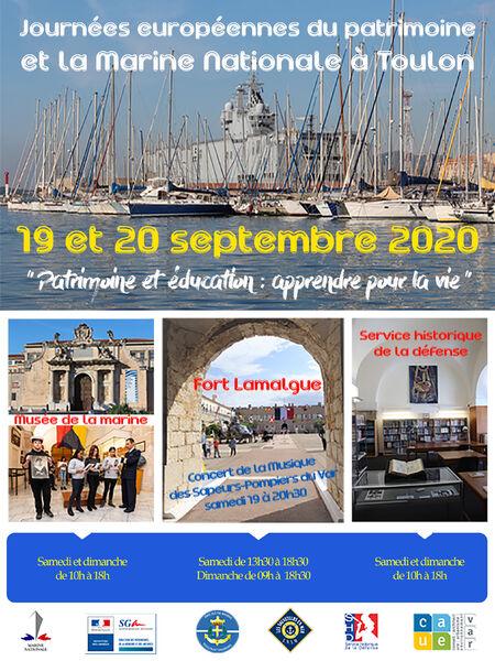 37es Journées Européennes du Patrimoine à Toulon - 2