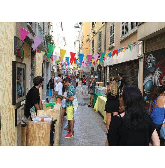 3e anniversaire de la Rue des Arts à Toulon - 2