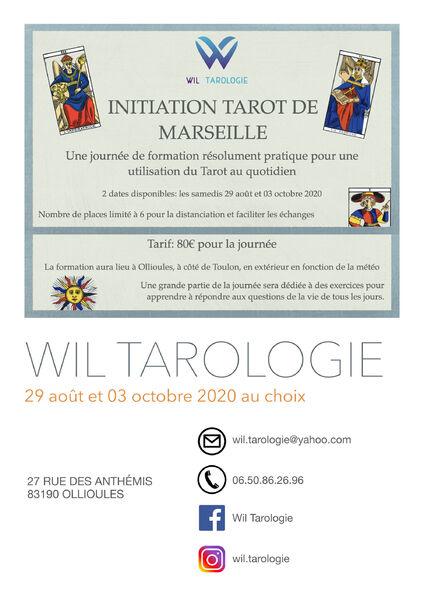 Initiation Tarot de Marseille à Ollioules - 0