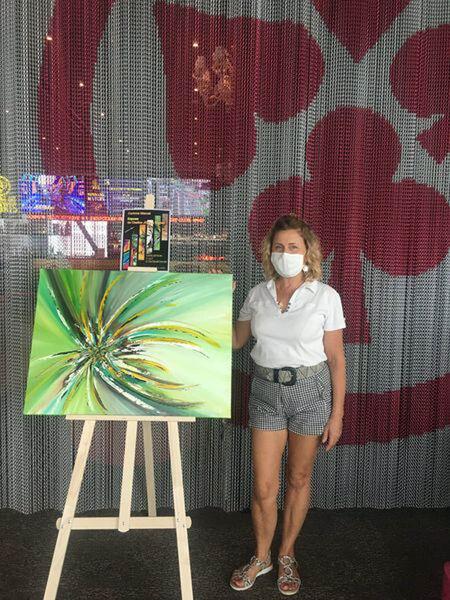 Exposition de l'artiste Corinne Marcel à La Seyne-sur-Mer - 1