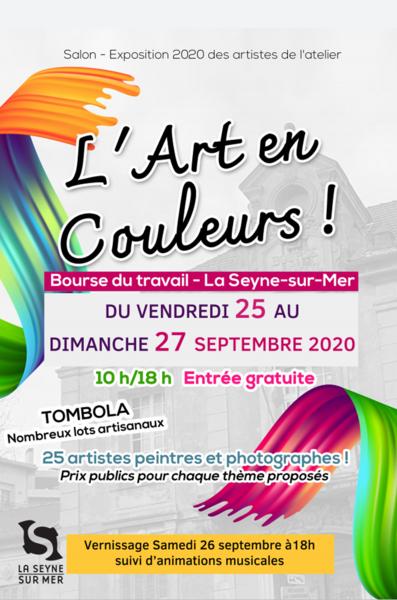 Annulé : Exposition «L'Art en couleurs» à La Seyne-sur-Mer - 0