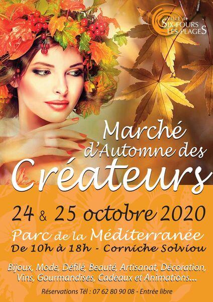 Marché d'automne des créateurs à Six-Fours-les-Plages - 0
