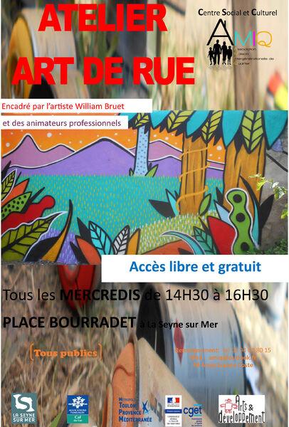 Annulé : Atelier Art de Rue à La Seyne-sur-Mer - 0