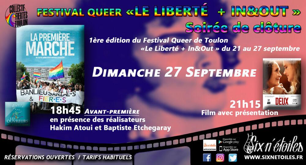 Festival Queer le Liberté + In&Out à Six-Fours-les-Plages - 0