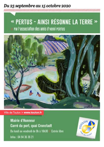 Exposition – « Pertus – Ainsi résonne la terre » à Toulon - 0