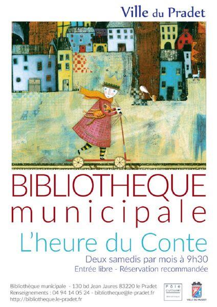 Bibliothèque Municipale : l heure du conte à Le Pradet - 0