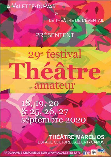 29e festival de théâtre amateur à La Valette-du-Var - 0