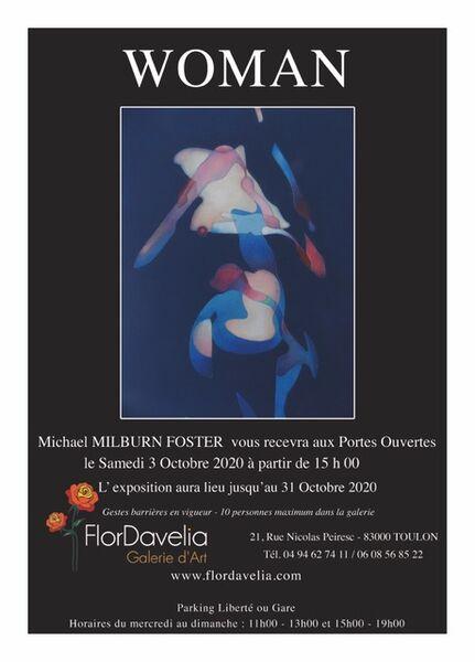 Artistes à découvrir / Michael Milburn Foster « Woman » à Toulon - 0