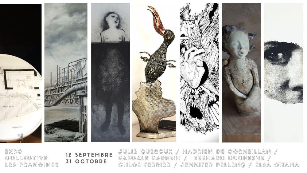 Artistes à découvrir / Exposition collective – Les Frangines à Toulon - 0