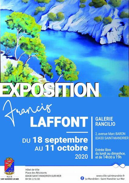 Exposition de peinture de Francis Laffont à Saint-Mandrier-sur-Mer - 0