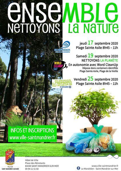 Ensemble, nettoyons la nature à Saint-Mandrier-sur-Mer - 0