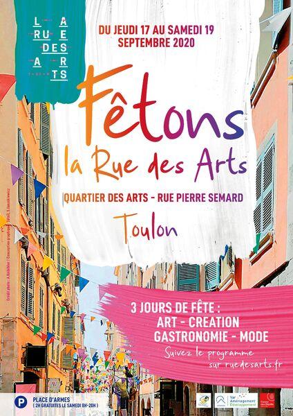 3e anniversaire de la Rue des Arts à Toulon - 0