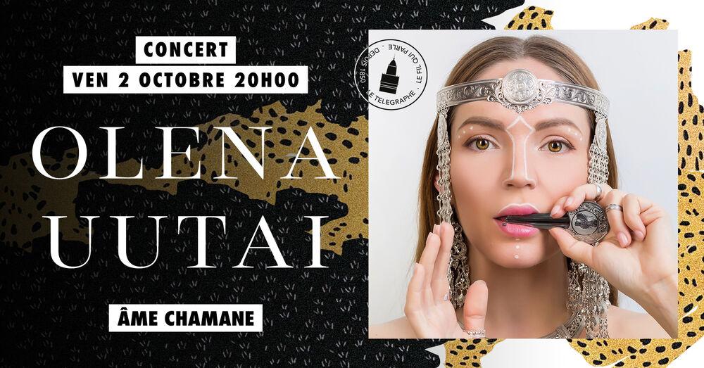 Concert/chant – Olena Uutai, Âme chamane à Toulon - 0