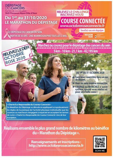 Octobre Rose – Course connectée à Toulon - 0