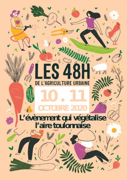 5e Festival « Les 48h de l'agriculture urbaine » à Toulon - 0