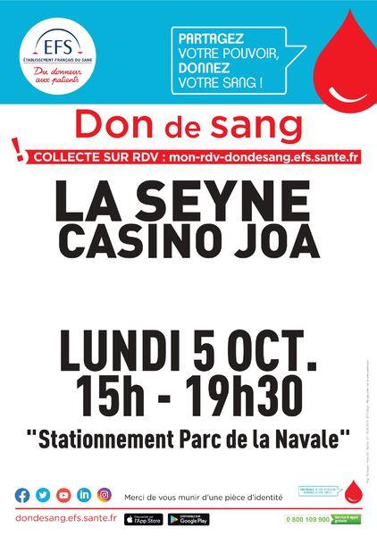 Collecte de sang à La Seyne-sur-Mer - 0