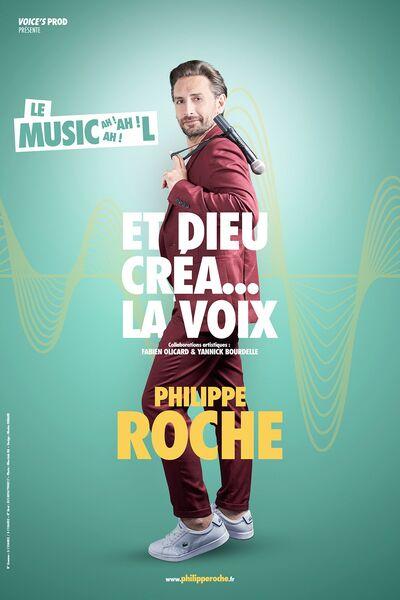 One man show «Et Dieu créa la voix» avec Philippe Roche à Six-Fours-les-Plages - 0
