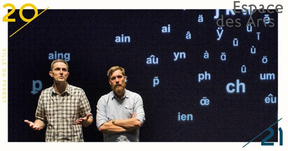 Spectacle « LA CONVIVIALITÉ La faute de l'orthographe » Compagnie Chantal et Bernadette à Le Pradet - 0