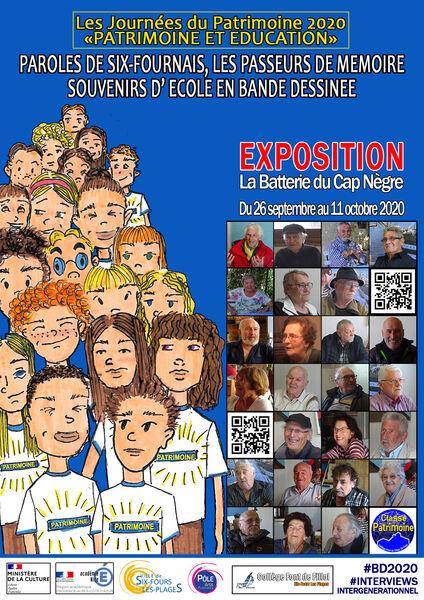 Exposition des classes «Patrimoine» du Collège Font de Fillol à Six-Fours-les-Plages - 0