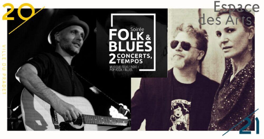 Spectacle  Soirée Folk & Blues : 2 concerts, 2 tempos – At dawn we are Kings / Julianne Joe en duo à Le Pradet - 0