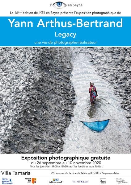 Festival l'Œil en Seyne : «Legacy» de Yann Arthus-Bertrand, une vie de photographe-réalisateur à La Seyne-sur-Mer - 0