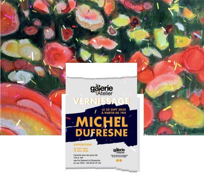 Exposition de peintures de l'artiste Michel Dufresne à Six-Fours-les-Plages - 0