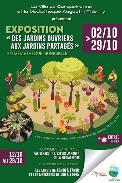 Exposition «Des Jardins Ouvriers aux Jardins Partagés» à Carqueiranne - 0