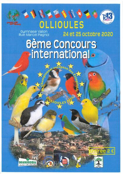 6ème Concours international à Ollioules - 0