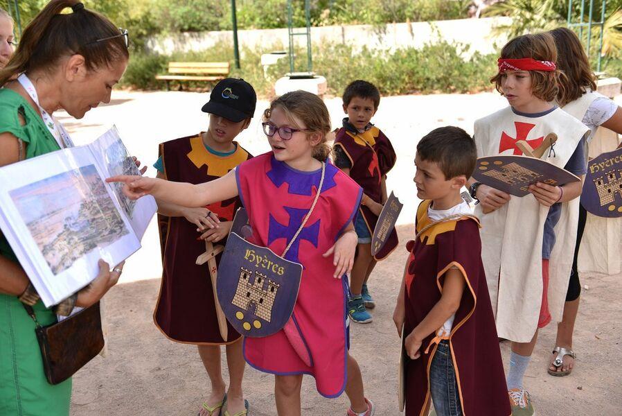 A la recherche du Trésor des Templiers (visite guidée spécial enfants) à Hyères - 1