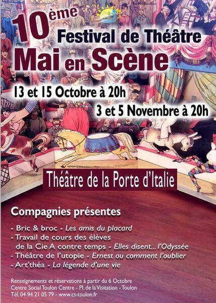 10e Festival Mai en Scène à Toulon - 0