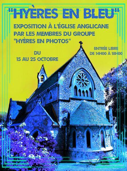 Exposition photo «Hyères en bleu» à l'église Anglicane à Hyères - 0