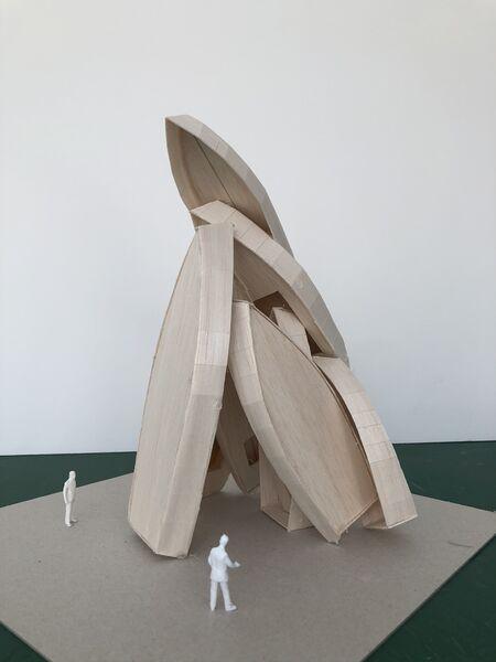 Théma Liberté #37 – Passion bleue / Art dans la ville – « Déplacement » Installation monumentale de Tadashi Kawamata à Toulon - 0