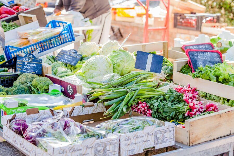 Le marché de La Capte à Hyères - 2