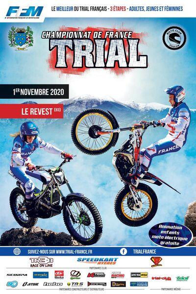 Finale championnat de France Trial à Le Revest-les-Eaux - 0