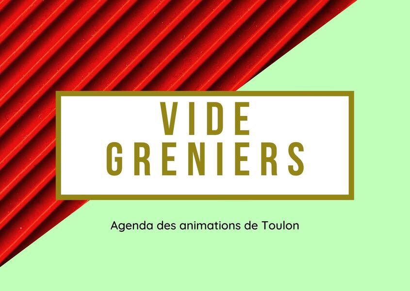 Vide-greniers Association Vitamine ton Écoquartier Font pré à Toulon - 0