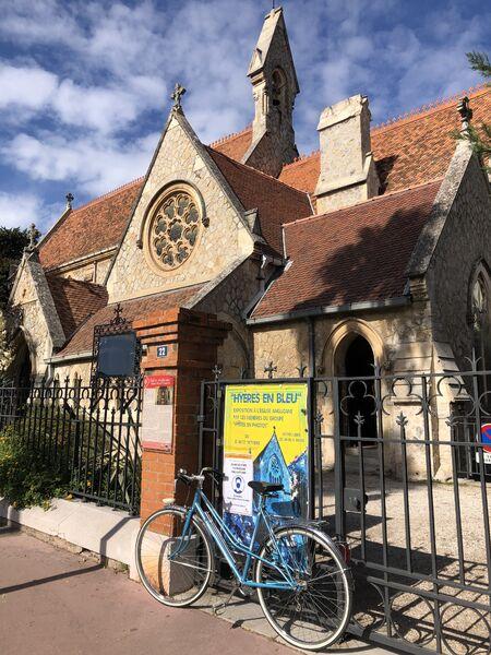 Exposition photo «Hyères en bleu» à l'église Anglicane à Hyères - 2