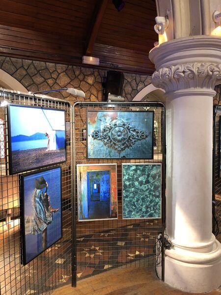 Exposition photo «Hyères en bleu» à l'église Anglicane à Hyères - 4