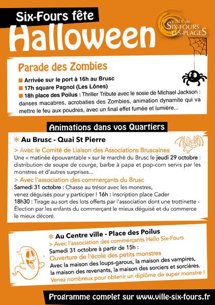 Six Fours fête Halloween à Six-Fours-les-Plages - 1