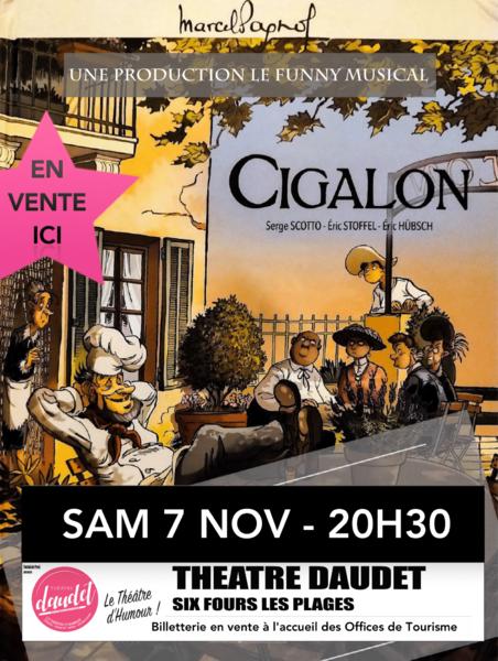 Théâtre musical «Cigalon» à Six-Fours-les-Plages - 0