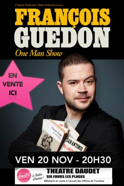 One man show de François Guédon à Six-Fours-les-Plages - 0