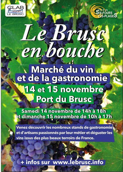 Le Brusc en bouche : marché du vin et de la gastronomie à Six-Fours-les-Plages - 0