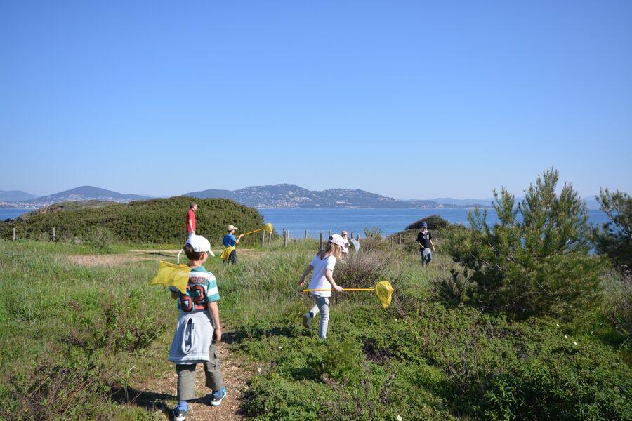 Les petits explorateurs du maquis (visite guidée spécial enfants) à Hyères - 1