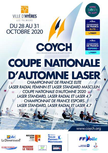 Coupe Nationale Laser à Hyères - 1
