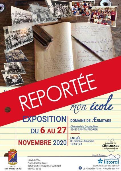 Reporté à une date ultérieure : Exposition «Il était une fois…mon école» à Saint-Mandrier-sur-Mer - 0