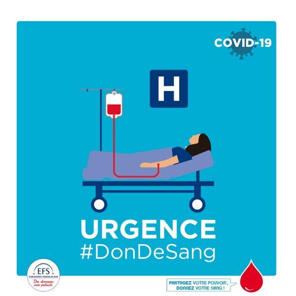 Collecte de sang quartier des 4 chemins des Routes à Toulon - 1