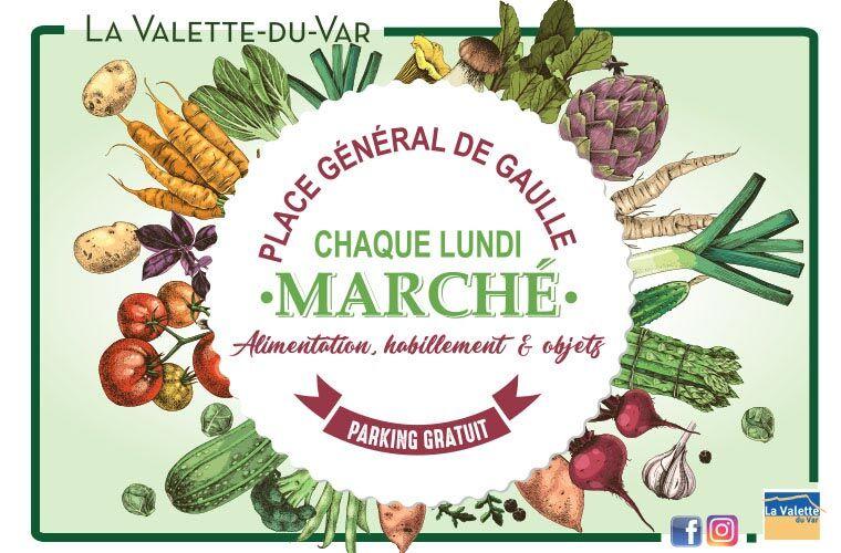 Marché à La Valette-du-Var - 0