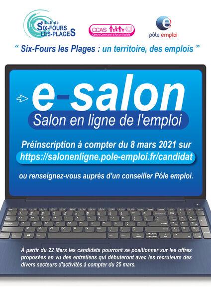 E-Salon de l'emploi à Six-Fours-les-Plages - 0